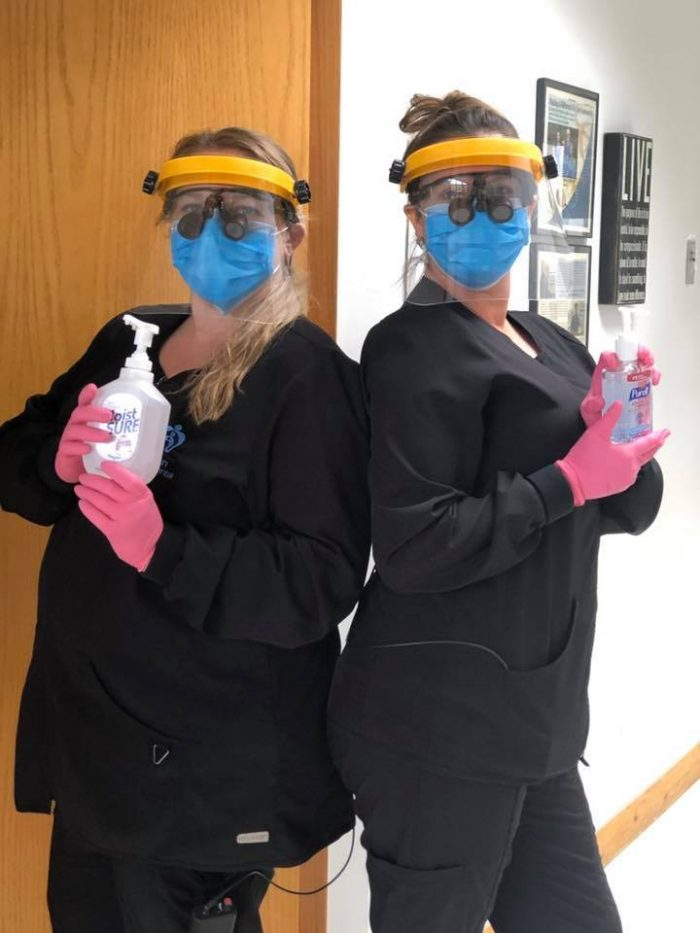 Our team is taking all precautions to keep everyone healthy and safe!